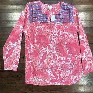 NWT Embroidered Shirt